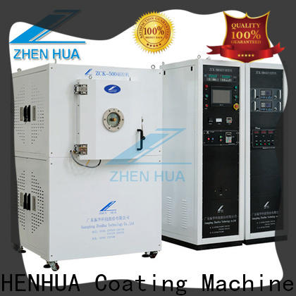 ZHENHUA stainless steel vacuumion cleaning equipment series for plastic