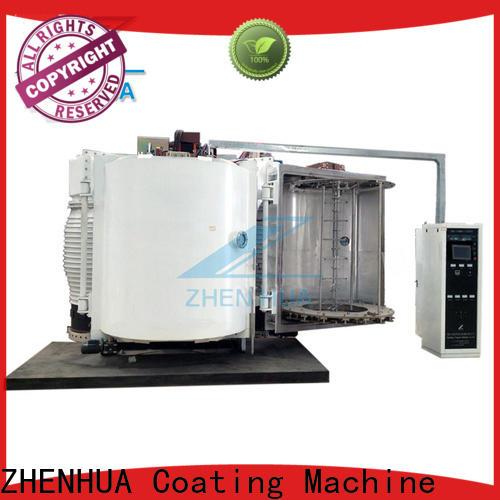 ZHENHUA hot selling plastic part decorative film coating machine directly sale for manufacturing