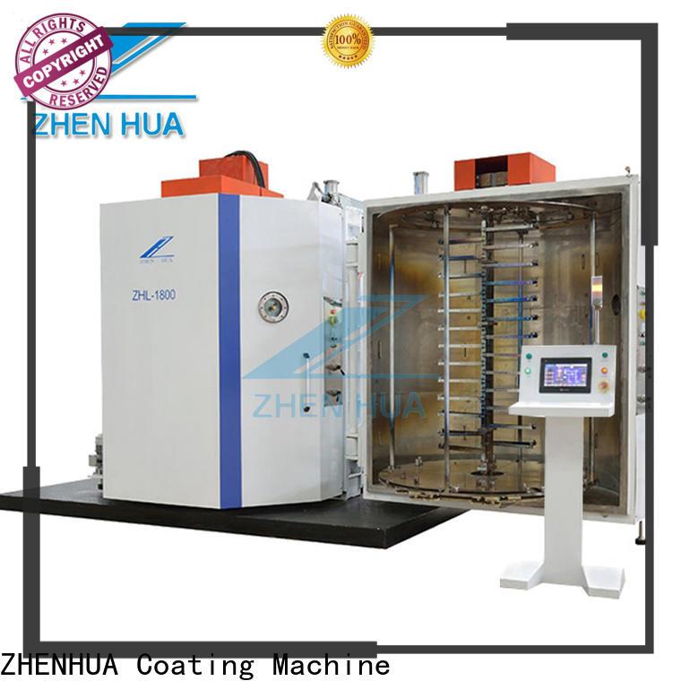 ZHENHUA plastic part decorative film coating machine customized for manufacturing