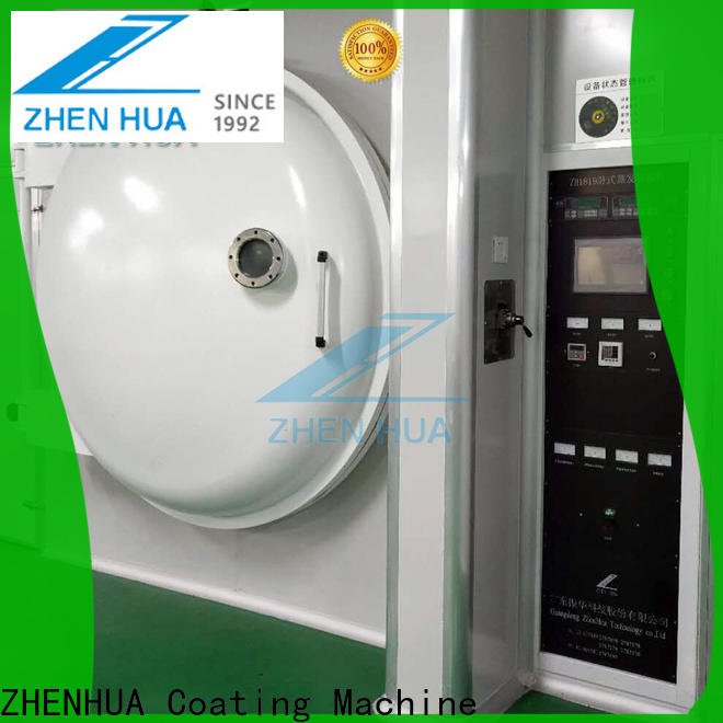 ZHENHUA practical plastic part decorative film coating machine manufacturer for factory
