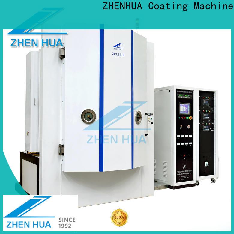 ZHENHUA Anti-Fingerprints coating equipment directly sale for stainless steel sheet