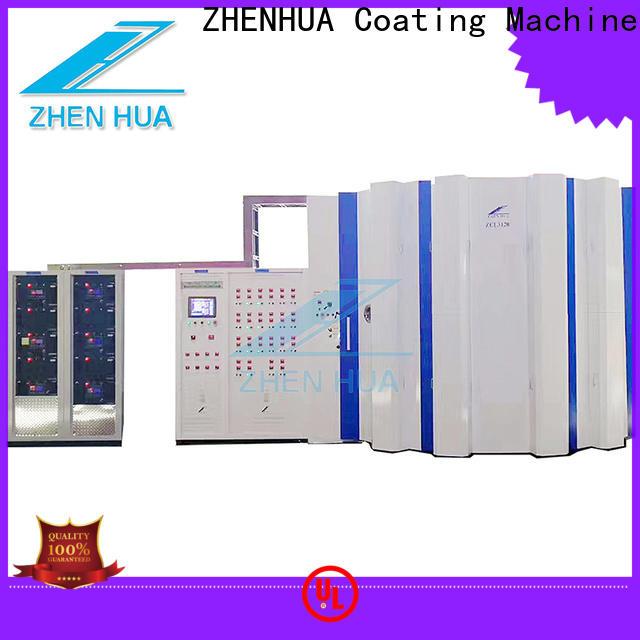 ZHENHUA PLC hard coating machine directly sale for stainless steel sheet