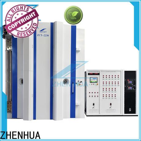 ZHENHUA PLC magnetron sputtering design for factory