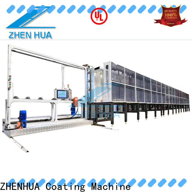 ZHENHUA anti-pollution Inline Sputtering System with good price for plastic