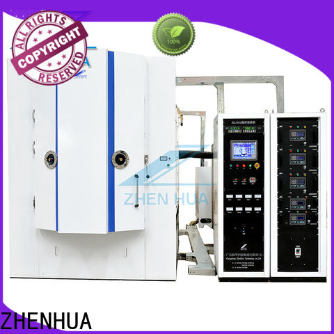 ZHENHUA magnetron sputtering factory price for plastic