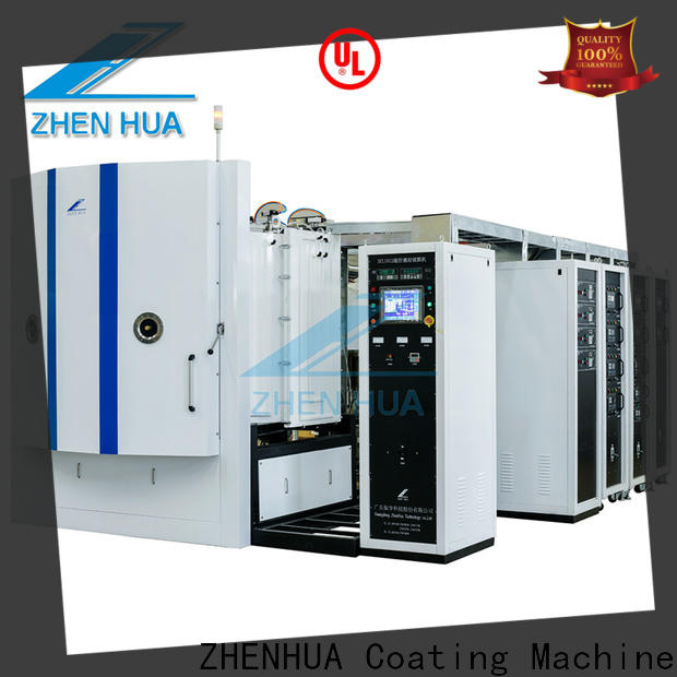 ZHENHUA fully automatic Magnetron sputtering coating equipment factory price for ceramics