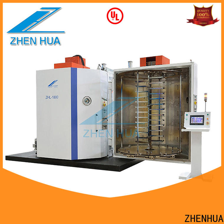 ZHENHUA reliable decorative plastic film coating machine directly sale for manufacturing