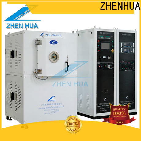 ZHENHUA anti-pollution plasma cleaning equipment directly sale for metal