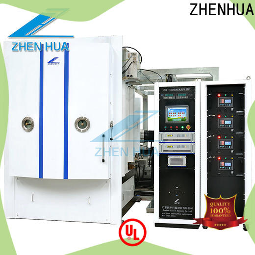 stainless steel magnetron sputtering coating machine supplier for plastic