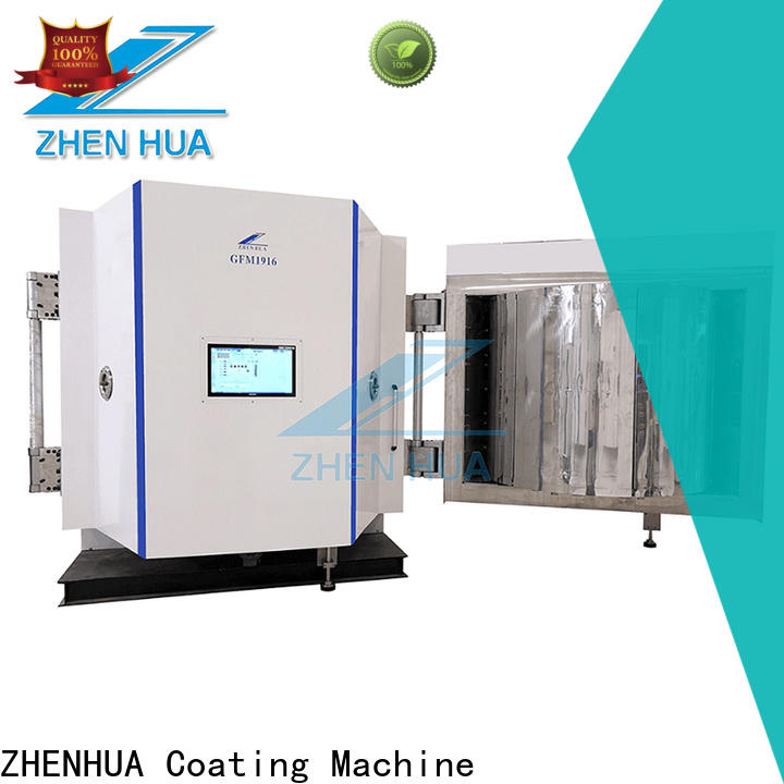 ZHENHUA plating Magnetron sputtering coating equipment factory price for industry