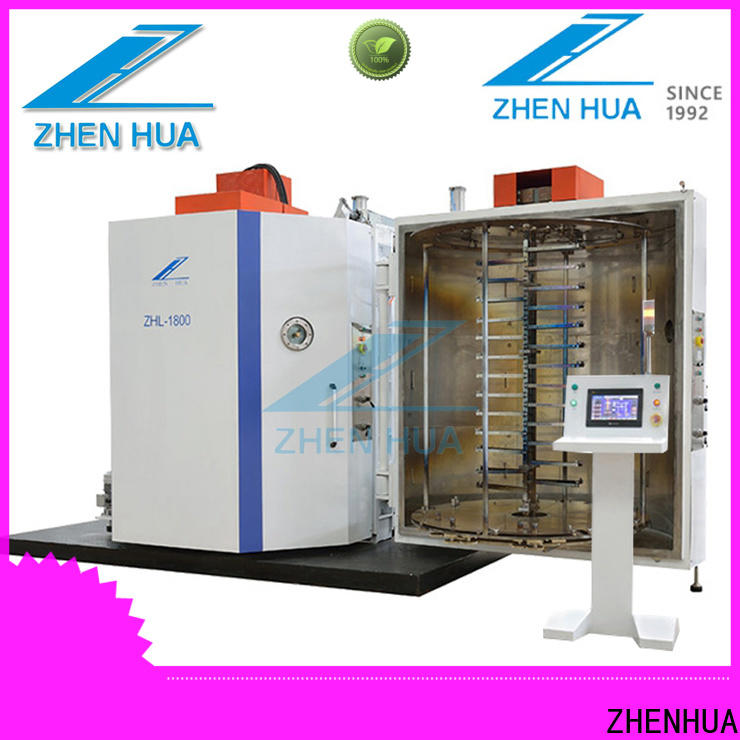 ZHENHUA plastic part decorative film coating machine from China for industry