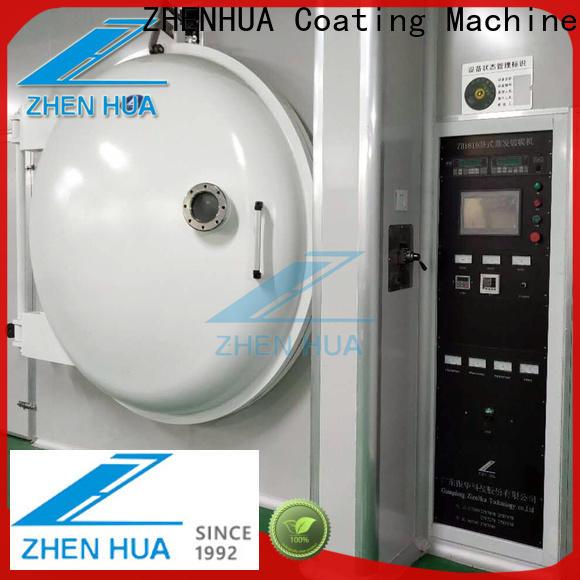 ZHENHUA decorative film coating machine manufacturer for manufacturing