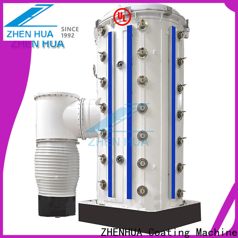 ZHENHUA stainless steel magnetron sputtering system with good price for ceramics