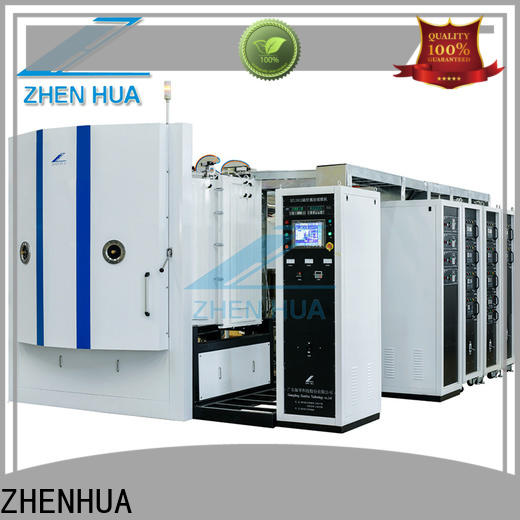 ZHENHUA plating magnetron sputtering coating machine factory price for plastic