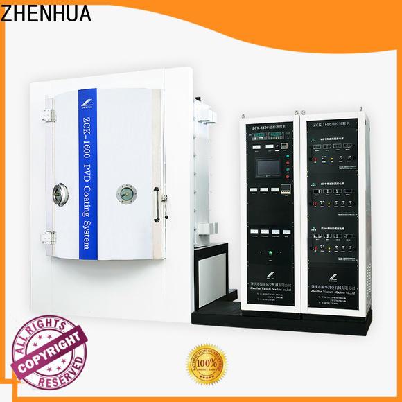 ZHENHUA pvd coating equipment supplier for plastic