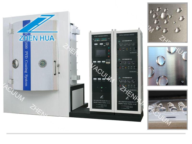 PVD coating principle of ZCK1600 magnetron sputtering coating machine