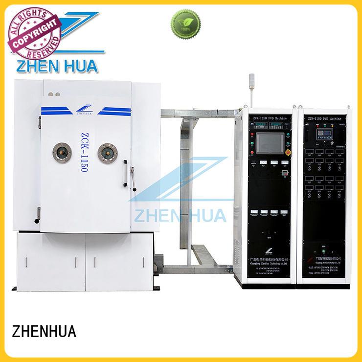 ZHENHUA arc sputtering equipment supplier for ceramics