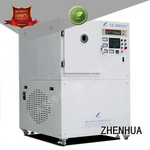 roll plasma cleaning system vacuumioncleaningmachinezhq100pr for ceramics ZHENHUA
