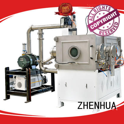 fully automatic plasma cleaning equipment PLC for metal ZHENHUA