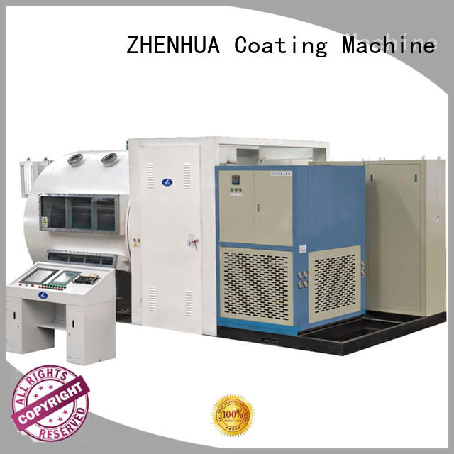 ZHENHUA stainless steel Roll to Roll Coating Equipment design for SiO2