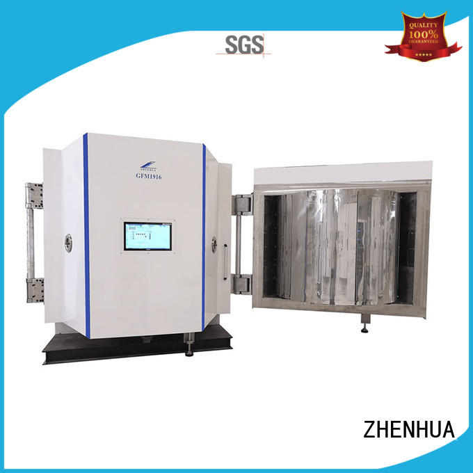PLC Magnetic control optical film plating machine touch screen for ceramics ZHENHUA