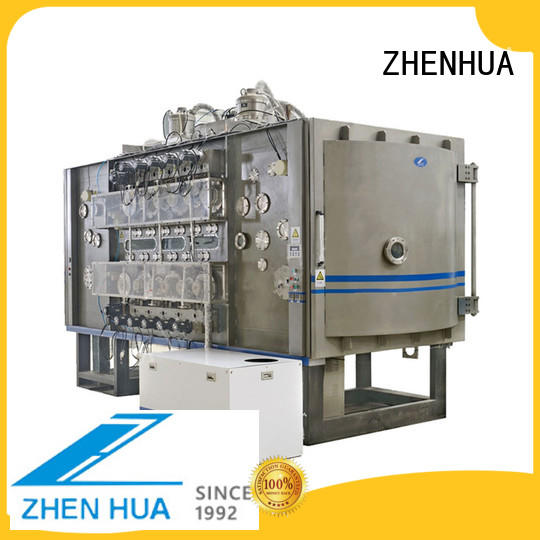 ZHENHUA anti-pollution roll to roll vacuum coating design for ceramics