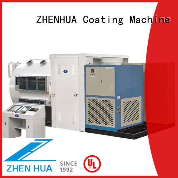 ZHENHUA roll to roll sputtering design for dielectric film