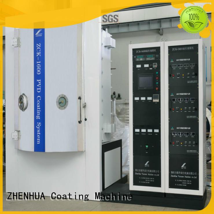 ZHENHUA AF film Anti-Fingerprints coating system machine for glass