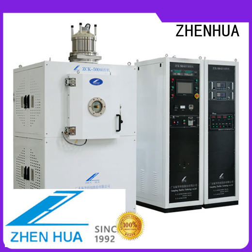 touch screen plasma cleaning machine fully automatic for ceramics ZHENHUA