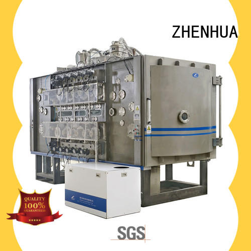 ZHENHUA protective roll to roll vacuum coating manufacturer for Si3N4