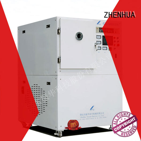 ZHENHUA anti-pollution plasma cleaning equipment design for metal